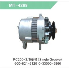 PC200-3/5 ALTERNATOR/GENERATOR (Single Groove)