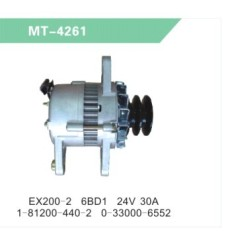 EX200-2 6BD1 ALTERNATOR/GENERATOR for EXCAVATOR