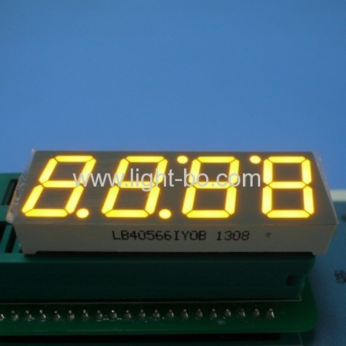 Super bright green 0.56  4 Digit 7 Segment LED Clock Display for wall oven control