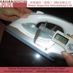 Professional Steam Iron quality inspection in china