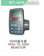 Excavator Monitor 6D95 7834-10-3200