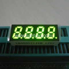 4 digit small display common anode