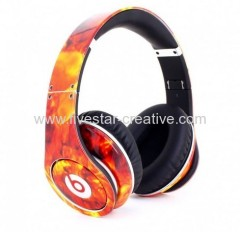 Beats Studio--Beats by Dre Headphones Flame