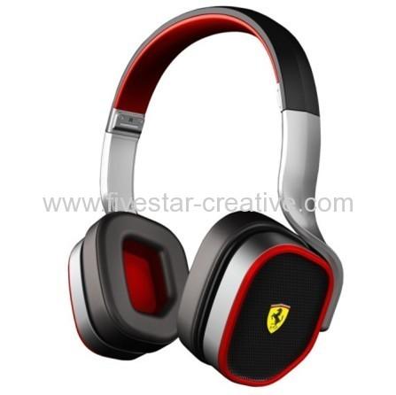 Ferrari Logic3 R200 Scuderia Ferrari Collection Headphones MIC Remote for iPhone