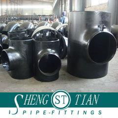 ST carbon steel pipe tee