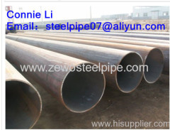 DN350 SCH80 carbon steel pipes of API 5L X56