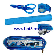 stationery in pencil bag