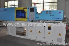 Newly designed close loop injection molding machine