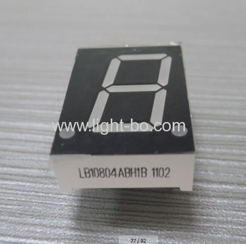 Gemeinsame Anode Segment Ultra-Blau 0,8-Zoll-Single-stelligen 7-LED-Display
