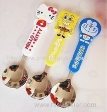 Heat transfer film for cartoon picture spoon
