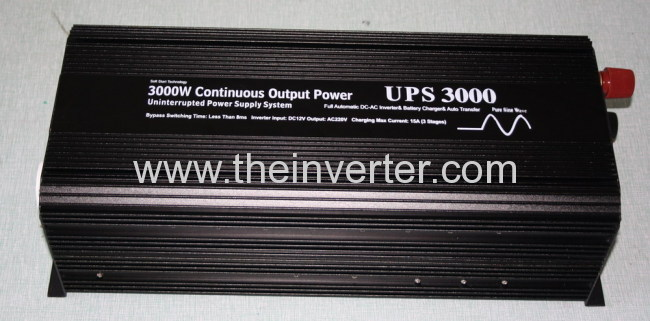 3000W pure sine wave power inverter with charger