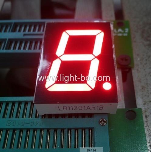 Reine weiße 1,2-Zoll-Anode sieben Segment-LED-Anzeige für digitale Anzeige