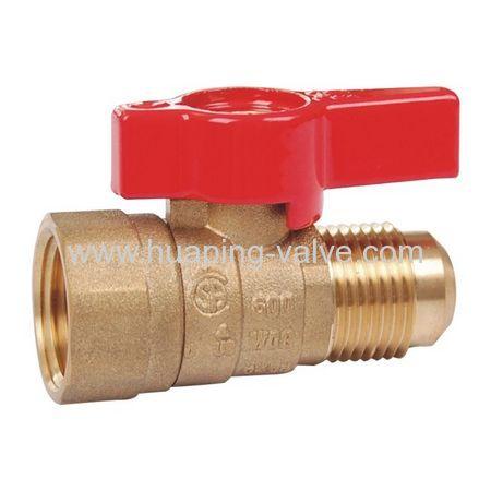 Brass Gas Ball Valve-Flare*Female