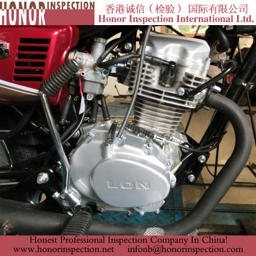 professional motorcycle inspection service in china