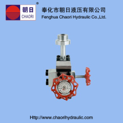 high quality stopping valve for accumulator
