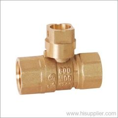 CSA Approved Square Head Brass Gas Ball Valve