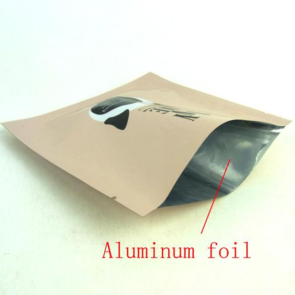 OEM aluminum foil facial mask packaging bags