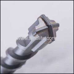 SDS max shank hammer drill bits cross head carbide, standard quality