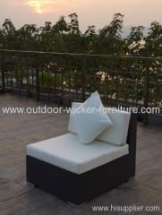 Garden center rattan sofa