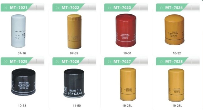 Oil Filter 3831236 for excavator