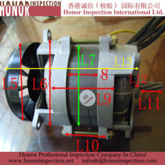 Professional AC Motor quality check in china