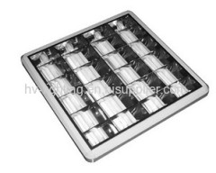 recessed t8 grille light 4x18w