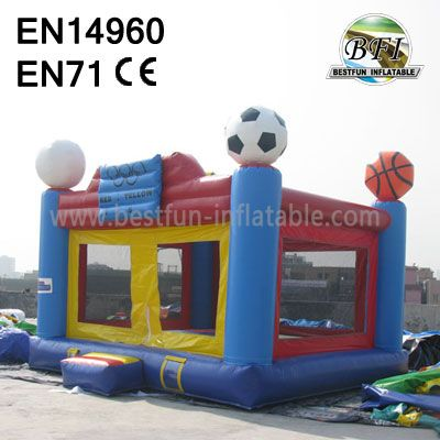 Inflatable Basketball Bouncer Commercial Grade