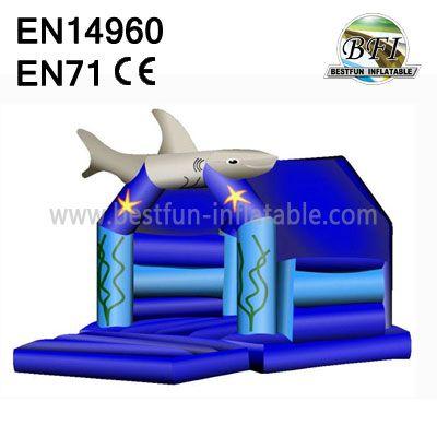Inflatable Shark Bounce House For Sale