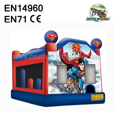 Inflatable Bouncer Spiderman Bounce House