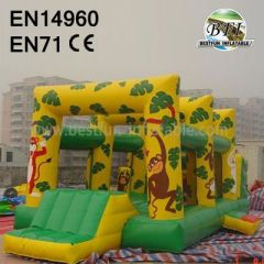 Inflatable Jungle Obstacle Combo