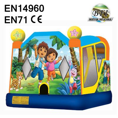 Inflatable Diego And Dora Bouncer