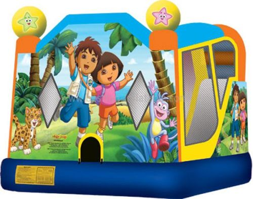 Diego And Dora Inflatable Bounce House