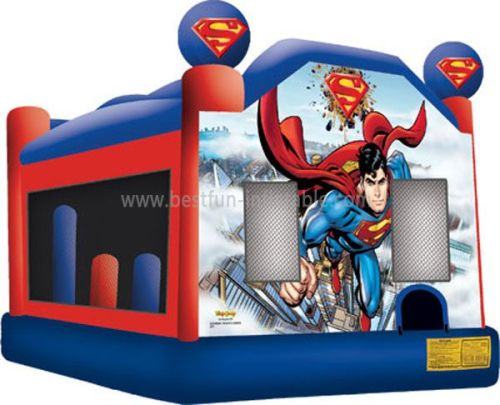 Inflatable Spiderman Bouncer with Basketball Hoops