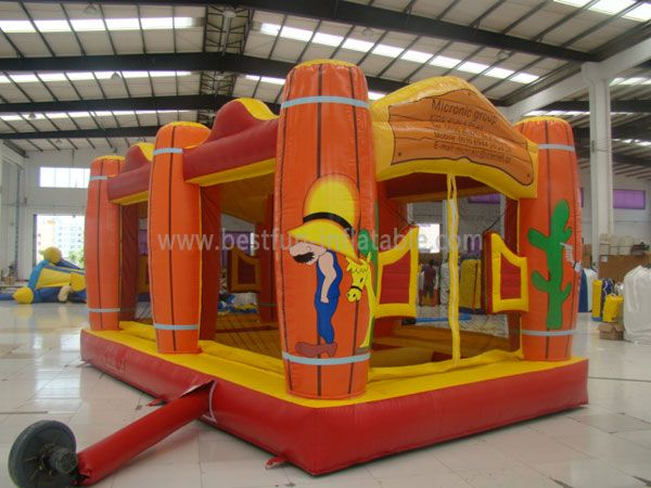 Adult or Children Inflatable Cactus Bouncers