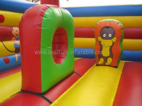 Inflatable Monkey Bouncer Toy For Children