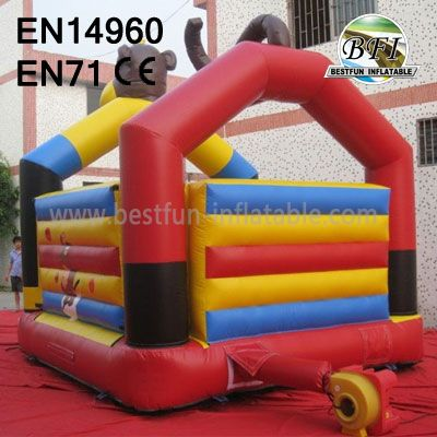 Children Inflatable Monkey Bounce House