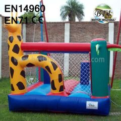 Inflatable Giraffe Bouncer Indoor