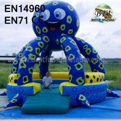 Inflatable Octopus Bounce Houses
