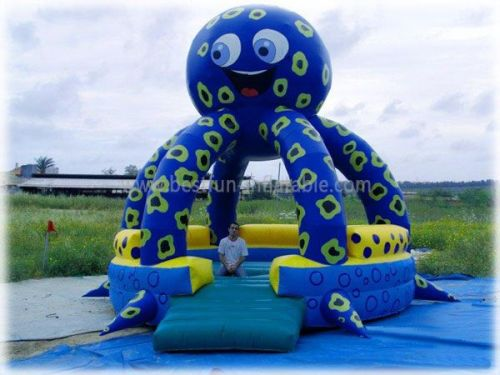 Octopus Inflatable Bounce House For Sale