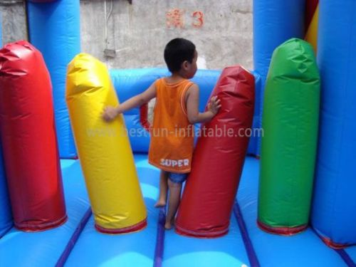 PVC Inflatable Obstacle Bouncer