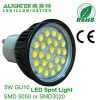 TUV approved 5W dimming GU10 LED Spot lamp 5050