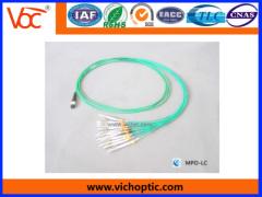 MPO fiber optic connector