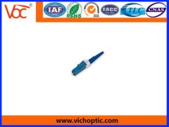 blue LC fiber optic connector