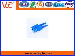 plastic LC optical fiber connector