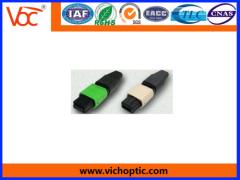 plastic MPO Optical Fiber Connector