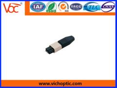 plastic MPO Fiber Optic Connector