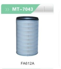 FA612A Air filter for excavator