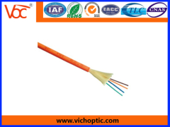 Tight buffered optical fiber with UV coating