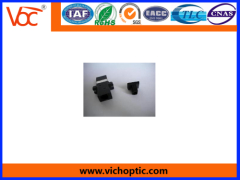 black plastic MTRJ Optical Fiber Adaptor