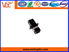 durable black engineering plastic MTRJ optical fiber adaptor